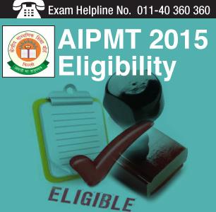 AIPMT 2015 Eligibility