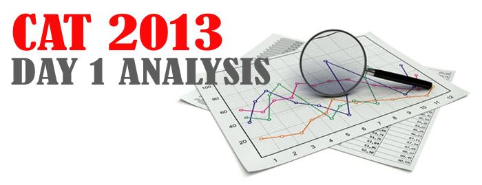 CAT 2013 Day 1 Analysis
