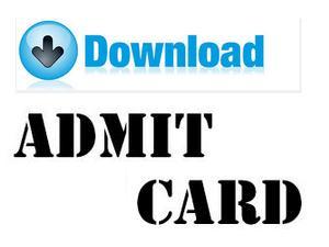 GPAT 2015 Admit Card