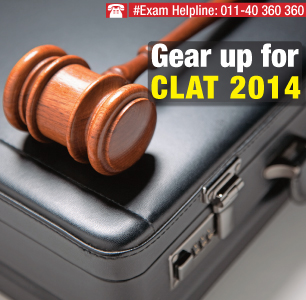 Gear up for CLAT 2014