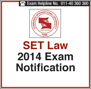 SET Law 2014 Application Last Date is April 13, 2014