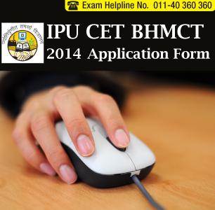 IPU CET BHMCT 2014 Application Form