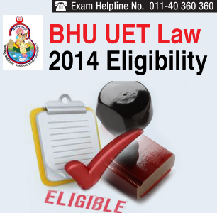 BHU LLB Entrance Exam 2014 Eligibility