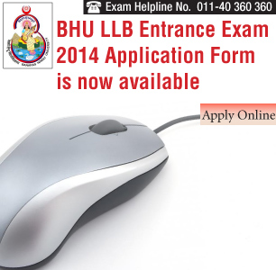BHU LLB Entrance Exam 2014 Application Form is now available