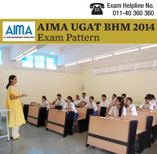 AIMA UGAT BHM 2014 Paper Pattern