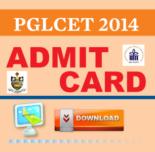 PGLCET 2014 Hall Ticket