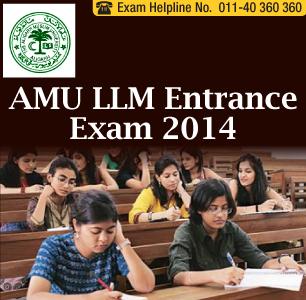 AMU LLM Entrance Exam 2014