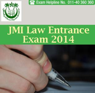 JMI Law Entrance Exam 2014