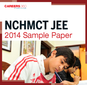 NCHMCT JEE Sample Paper