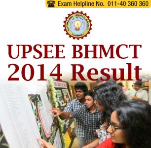 UPSEE BHMCT 2014 Result