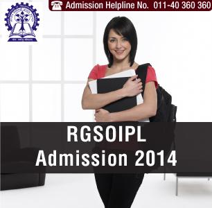 RGSOIPL LLB Entrance Exam 2014