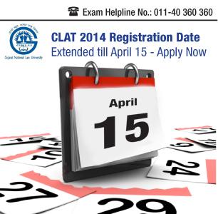 CLAT 2014 Registration Date Extended till April 15!