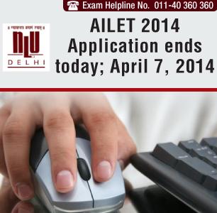 AILET 2014 application process ends on April 15, 2014