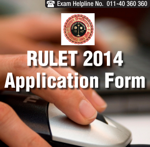 RULET 2014 Application Form is available from April 15