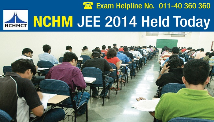NCHM JEE 2014 Concludes