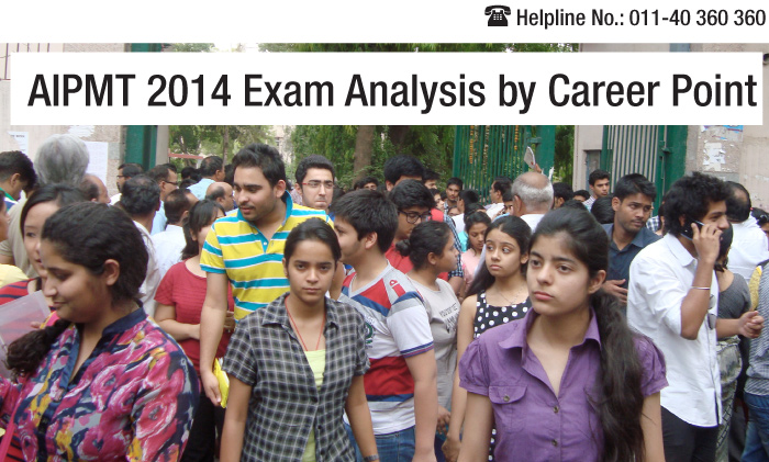 AIPMT 2014 analysis by Career Point