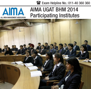 AIMA UGAT BHM 2014 Participating Institutes