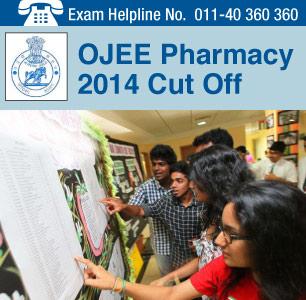 OJEE Pharmacy 2014 Cutoff