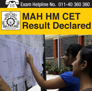 MAH HM CET 2014 Result announced on May 28 by DTE