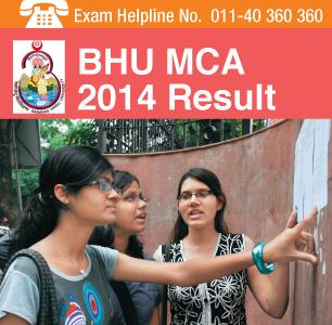 BHU MCA 2014 Result