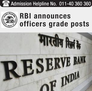 RBI Recruitment 2014 for 117 Grade B officers Post