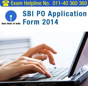 SBI PO 2014 Application Form