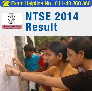 NTSE 2014 Result