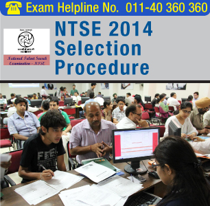 NTSE 2015 Selection Procedure