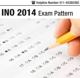 INO 2014 Exam Pattern