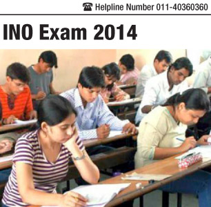 Indian National Olympiad (INO) Examination 2014