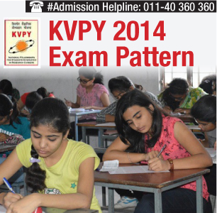 KVPY 2014 Exam Pattern