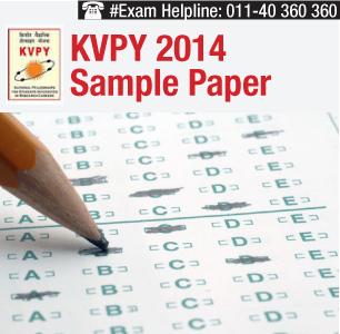 KVPY 2014 Sample Paper