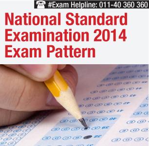 National Standard Examination 2014 Pattern