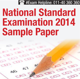 National Standard Examination 2014 Sample Papers