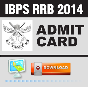 IBPS RRB 2014 Admit Card