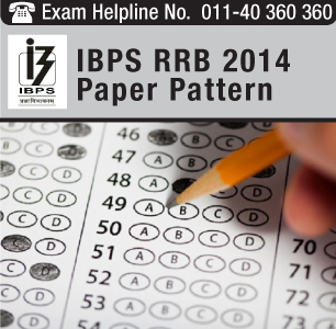 IBPS RRB 2014 Paper Pattern