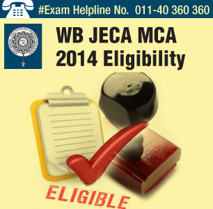 WB JECA MCA 2014 Eligibility
