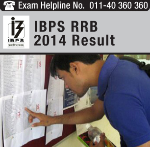 IBPS RRB 2014 Result