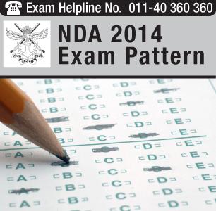 NDA II 2014 Exam Pattern