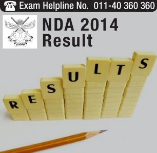NDA II 2014 Result