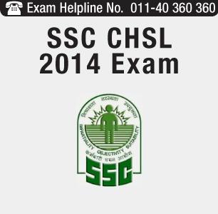 SSC CHSL 2014 Exam