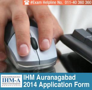 IHM Aurangabad 2014 Application Form