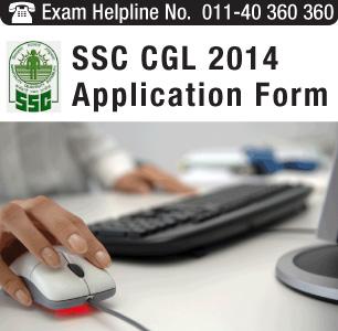 SSC CGL 2014 Application Form