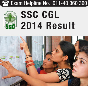 SSC CGL 2014 Result