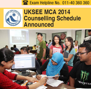 UKSEE MCA 2014 Counselling to begin on July 24
