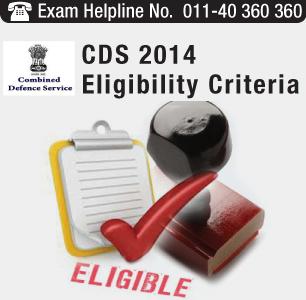 CDS II 2014 Eligibility Criteria