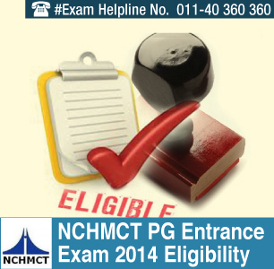 NCHMCT PG Admission 2014 Eligibility