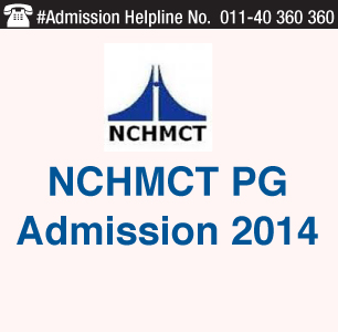 NCHMCT PG 2014 Admission