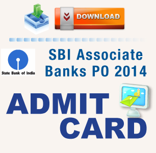SBI Associate Banks PO 2014 Admit Card
