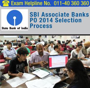 SBI Associate Banks PO 2014 Selection Process